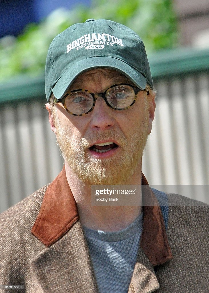 Chris Elliott filming on location for 'Untitled Marc Lawrence Project' on April 30, 2013 in the Brooklyn borough of New York City.