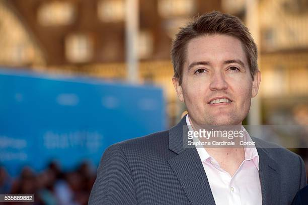 Chris Eska attends the premiere of the movie 'Joe' during the 39th Deauville American Film Festival in Deauville