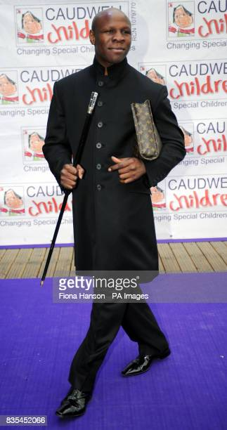 Chris Eubank arrives for the Butterfly Ball in Battersea Park London The event by Caudwell Children aims to raise funds for disabled children