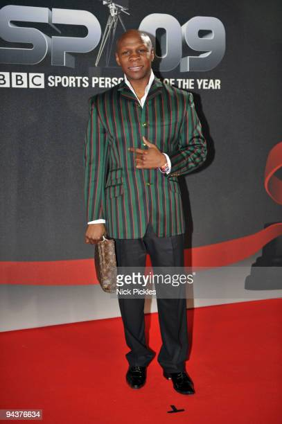 Chris Eubank attends the BBC Sports Personality Of The Year Awards at Sheffield Arena on December 13 2009 in Sheffield England