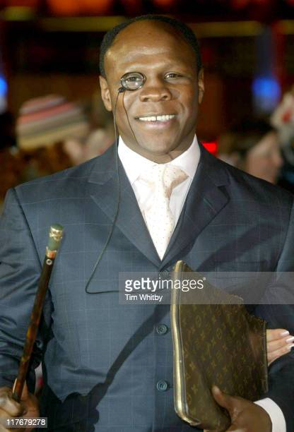 Chris Eubank during BBC 50th Sports Personality Of The Year Awards at BBC Television Centre in London Great Britain