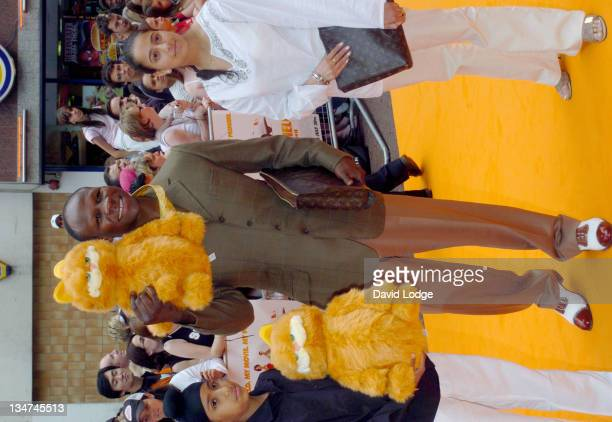 Chris Eubank during 'Garfield The Movie' London Charity Premiere Arrivals at Liecester Square Vue Cinema in London Great Britain