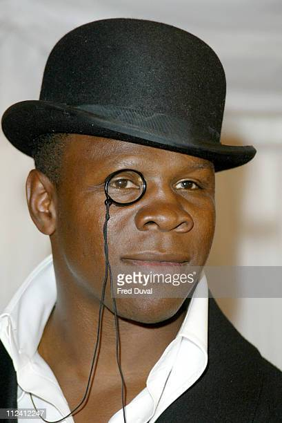 Chris Eubank during ITV's 'Hell's Kitchen' Arrivals May 29 2004 at Brick Lane in London United Kingdom