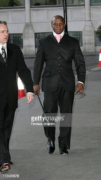 Chris Eubank during Labour Party Gala Dinner May 8 2006 at Hilton Park Lane in London Great Britain