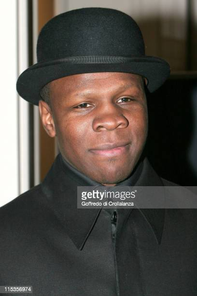 Chris Eubank during World Hairdressing Congress 2005 The London Hair Collections Party at Grosvenor House Hotel in London Great Britain