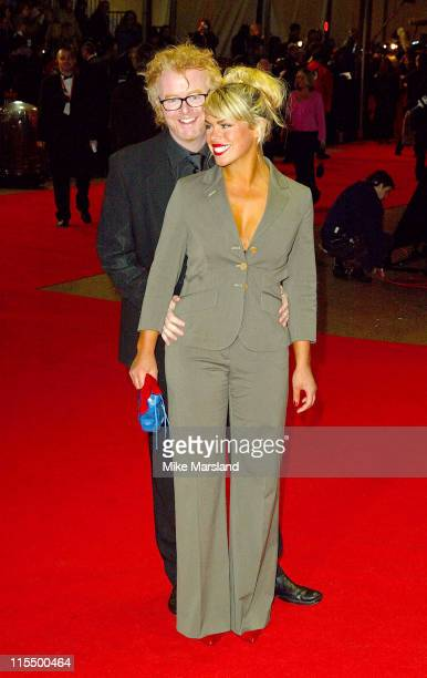 Chris Evans and Billie Piper during 2004 BAFTA Awards Arrivals at The Odeon Leicester Square in London United Kingdom
