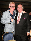 Chris Evans and Terry Wogan attend the Radio Academy Hall Of Fame on December 10 2009 in London England