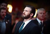 Chris Evans arrives for European Premiere 'Captain America Civil War' at Vue Westfield on April 26 2016 in London England