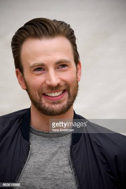 Chris Evans at the 'Gifted' Press Conference at the Four Seasons Hotel on March 31 2017 in Beverly Hills California