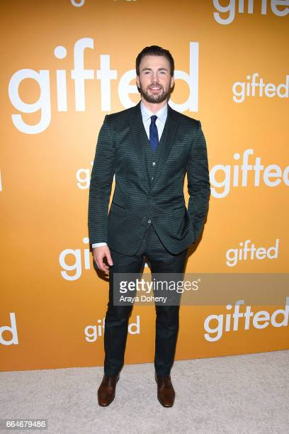 Chris Evans attends the premiere of Fox Searchlight Pictures' 'Gifted' at Pacific Theaters at the Grove on April 4 2017 in Los Angeles California