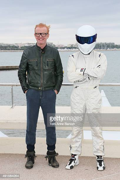 Chris Evans attends 'Top Gear' photocall on La Croisette on October 6 2015 in Cannes France