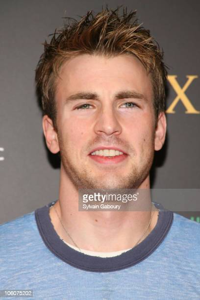 Chris Evans during Maxim Magazine's 7th Annual Hot 100 Party Arrivals at Buddha Bar in New York New York United States