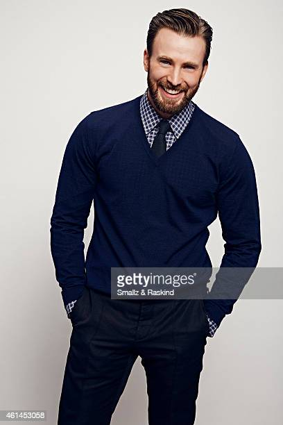 Chris Evans poses during the The 41st Annual People's Choice Awards at Nokia Theatre LA Live on January 7 2015 in Los Angeles California