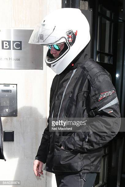 Chris Evans seen at BBC Radio 2 on July 1 2016 in London England