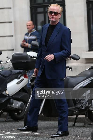 Chris Evans seen at BBC Radio 2 on September 27 2016 in London England