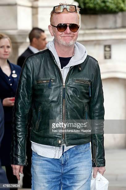 Chris Evans seen outside the Langham Hotel on June 10 2015 in London England
