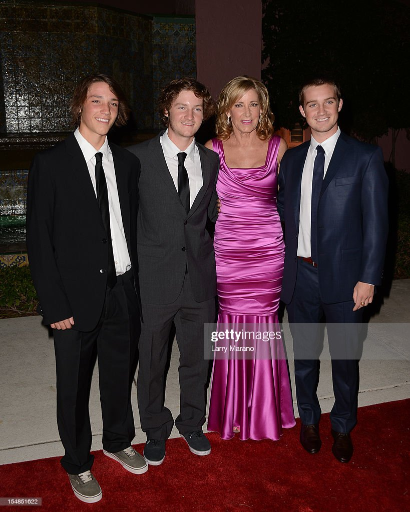<a gi-track='captionPersonalityLinkClicked' href=/galleries/search?phrase=Chris+Evert&family=editorial&specificpeople=206410 ng-click='$event.stopPropagation()'>Chris Evert</a> and her sons arrive at 23rd Annual <a gi-track='captionPersonalityLinkClicked' href=/galleries/search?phrase=Chris+Evert&family=editorial&specificpeople=206410 ng-click='$event.stopPropagation()'>Chris Evert</a>/Raymond James Pro-Celebrity Tennis Classic Gala at Boca Raton Resort on October 27, 2012 in Boca Raton, Florida.