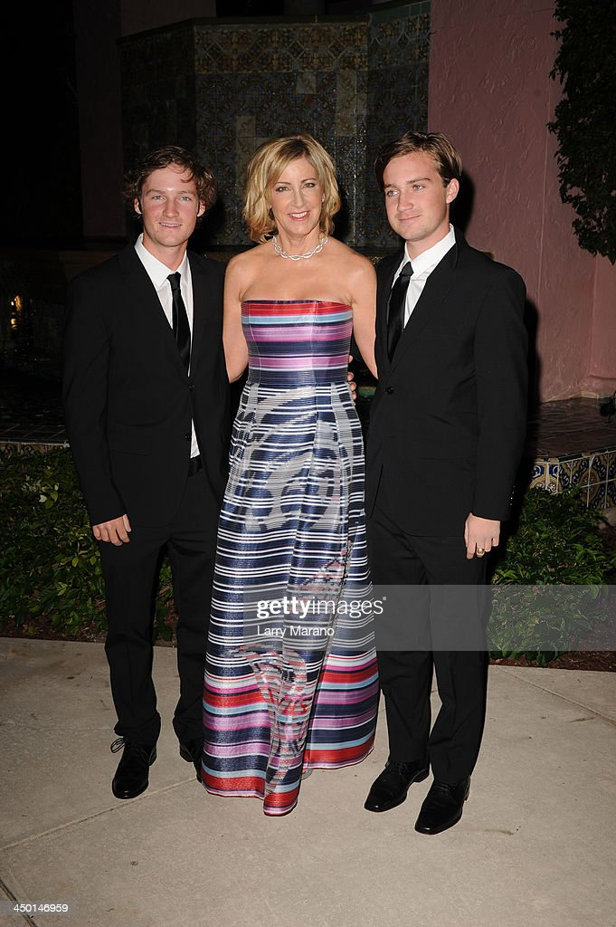 <a gi-track='captionPersonalityLinkClicked' href=/galleries/search?phrase=Chris+Evert+-+Tennis+Player&family=editorial&specificpeople=206410 ng-click='$event.stopPropagation()'>Chris Evert</a> and Her Sons arrive at the 2013 <a gi-track='captionPersonalityLinkClicked' href=/galleries/search?phrase=Chris+Evert+-+Tennis+Player&family=editorial&specificpeople=206410 ng-click='$event.stopPropagation()'>Chris Evert</a> Pro-Celebrity Tennis Classic Gala at Boca Raton Resort on November 16, 2013 in Boca Raton, Florida.
