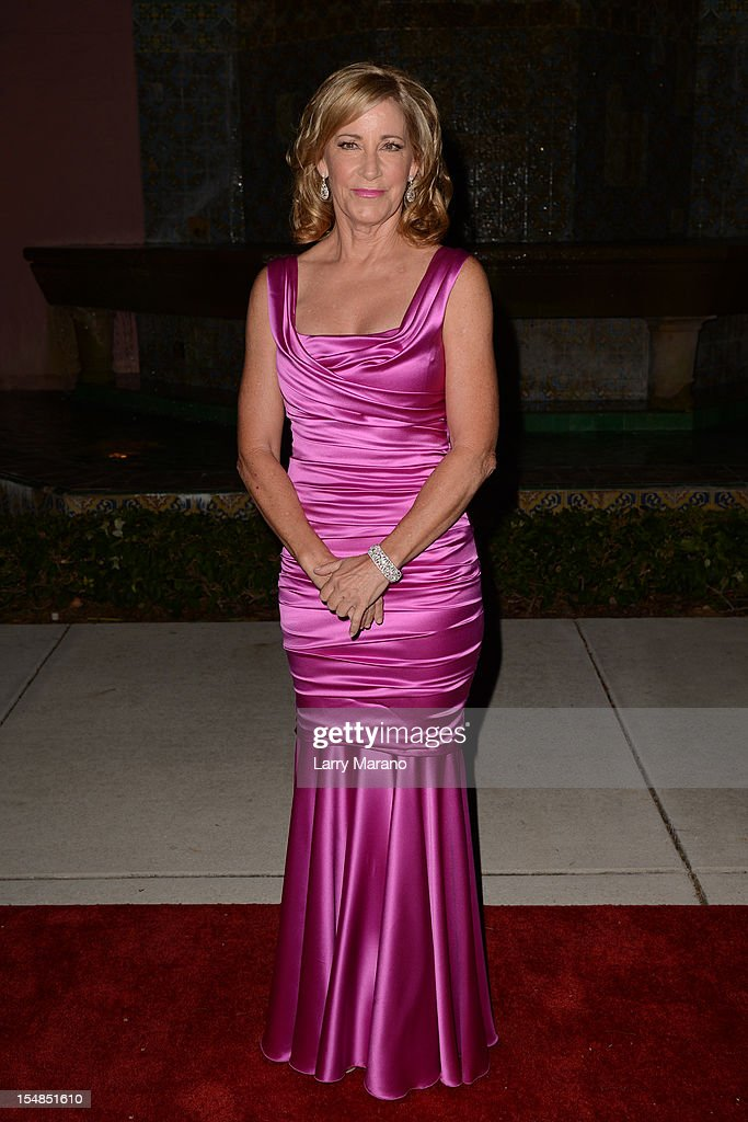 Chris Evert arrives at 23rd Annual Chris Evert/Raymond James Pro-Celebrity Tennis Classic Gala at Boca Raton Resort on October 27, 2012 in Boca Raton, Florida.