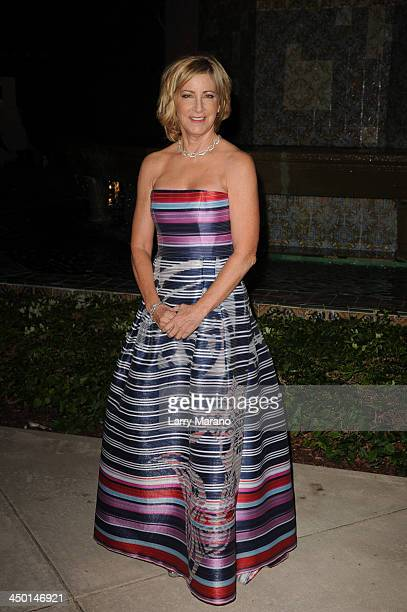 Chris Evert arrives at the 2013 Chris Evert ProCelebrity Tennis Classic Gala at Boca Raton Resort on November 16 2013 in Boca Raton Florida