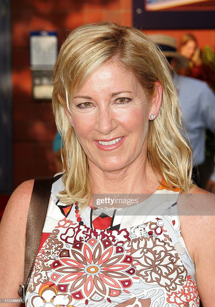 Chris Evert attends the 40th Anniversary opening night celebration during the 2008 US Open at the President's Gate at the USTA Billie Jean King National Tennis Center on August 25, in the Flushing neighborhood of the Queens borough of New York City.