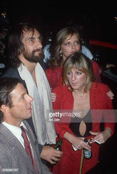 Chris Evert with Cheryl Tiegs and her date circa 1970 New York