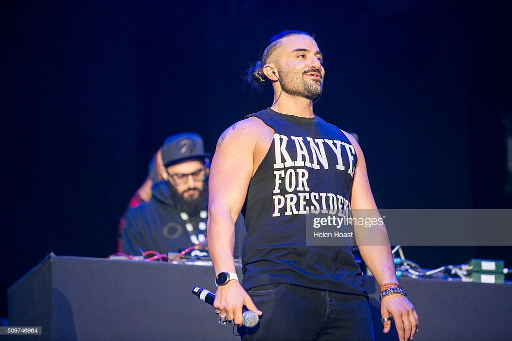Chris Fade performs at Redfest DXB at Media City Amphitheatre on February 12, 2016 in Dubai, United Arab Emirates.