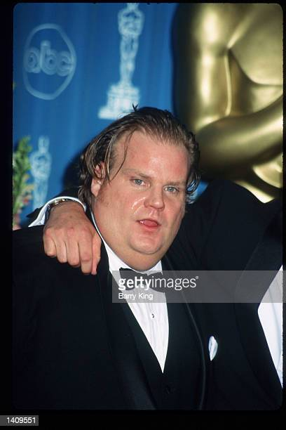Chris Farley attends the 69th Annual Academy Awards ceremony March 24 1997 in Los Angeles CA