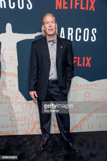 Chris Feistl attends 'Narcos' season 3 New York screening at AMC Loews Lincoln Square 13 theater on August 21 2017 in New York City