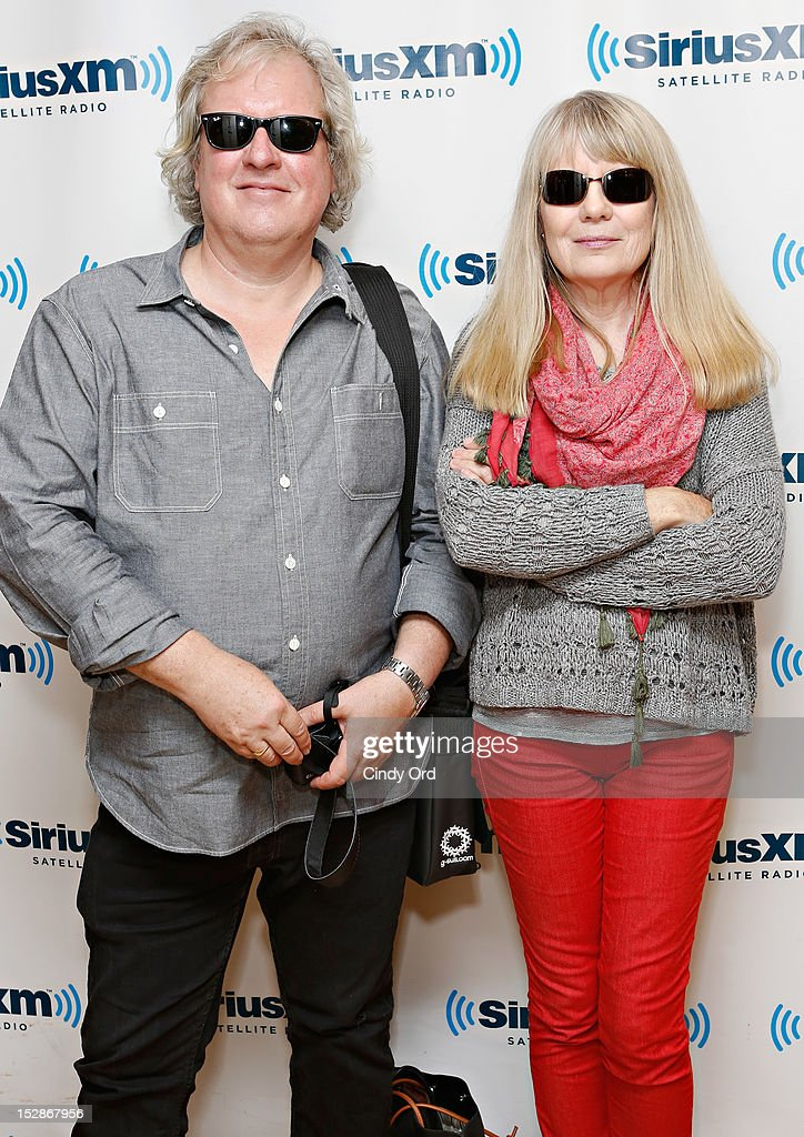 Chris Frantz and Tina Weymouth of Tom Tom Club visit the SiriusXM Studio on September 27, 2012 in New York City.