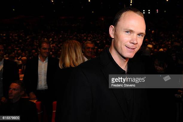 Chris Froome of Great Britain and Team Sky during Le Tour de France 2017 Route Announcement at the Palais des Congres on October 18 2016 in Paris...