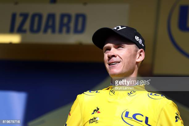 Chris Froome of Great Britain and Team SKY retained his race lead and yellow jersey after stage eighteen of the 2017 Tour de France a 1795km stage...