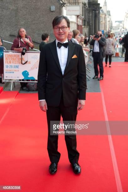 Chris Fujiwara attends the Premiere of 'HYENA' at Festival Theatre during the Edinburgh International Film Festival on June 18 2014 in Edinburgh...
