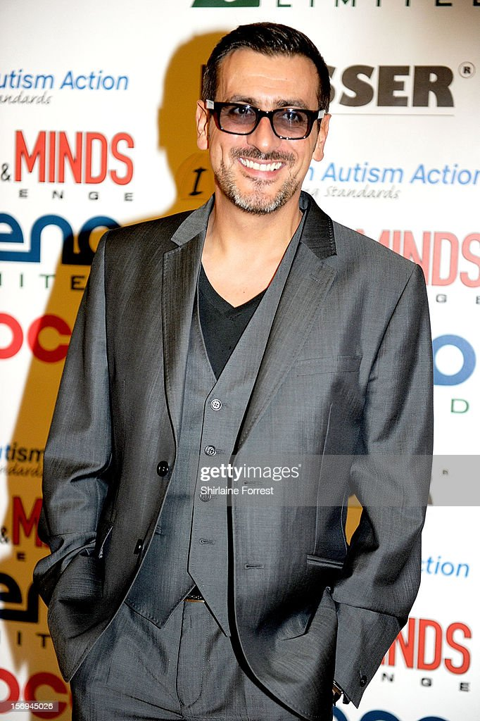 Chris Gascoyne attends the Hearts and Minds charity ball at Hilton Hotel on November 25, 2012 in Manchester, England.