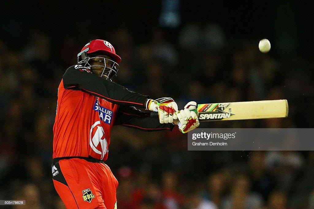 Big Bash League - Melbourne Renegades v Adelaide Strikers