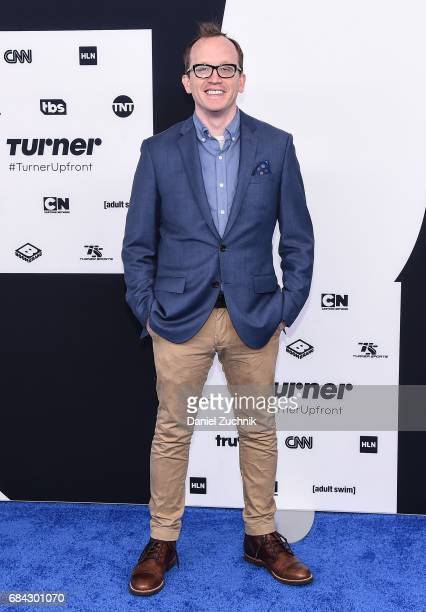 Chris Gethard attends the 2017 Turner Upfront at Madison Square Garden on May 17 2017 in New York City