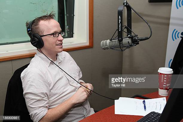 Chris Gethard of Upright Citizen's Brigade visits 'Raw Dog Comedy's The Phone Show' at the SiriusXM Studio on December 8 2011 in New York City