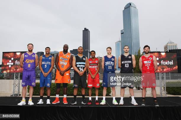 Chris Goulding Melbourne United Brad Newley Sydney Kings Bryce Cotton Perth Wildcats Stephen Holt Brisbane Bullets Nathan Sobey Adelaide 36ers Nate...