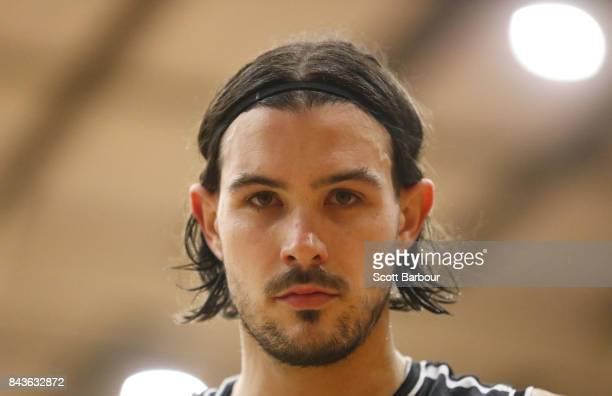 Chris Goulding of Melbourne United looks on during the 2017 NBL Blitz preseason match between Melbourne United and the Illawarra Hawks at Traralgon...