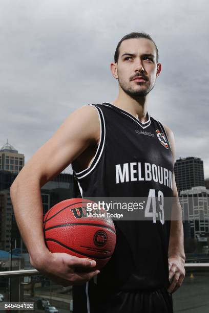 Chris Goulding of Melbourne United poses during the 2017/18 NBL and WNBL Season Launch at Crown Towers on September 11 2017 in Melbourne Australia