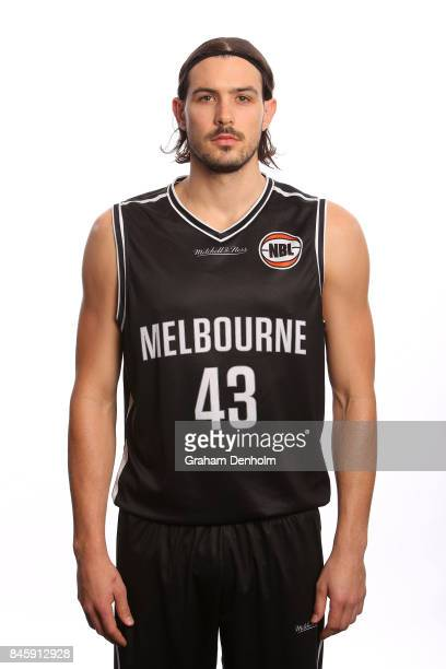 Chris Goulding of Melbourne United poses during the 2017/18 NBL Media Day at Crown Entertainment Complex on September 11 2017 in Melbourne Australia