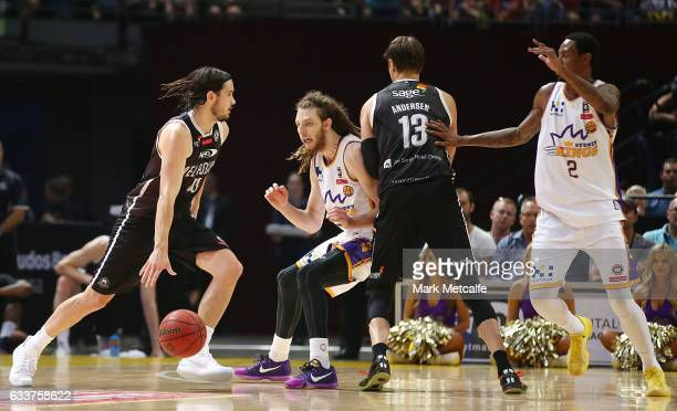 Chris Goulding of United in action during the round 18 NBL match between the Sydney Kings and Melbourne United at Qudos Bank Arena on February 4 2017...