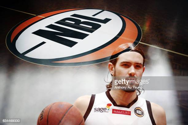 Chris Goulding of United looks on during warm up prior to the round 19 NBL match between the New Zealand Breakers and Melbourne United at North Shore...
