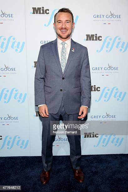 Chris Goy attends GREY GOOSE Vodka Hosts The Inaugural Mic50 Awards at Marquee on June 18 2015 in New York City