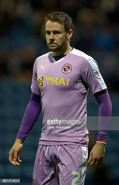 Chris Gunter of Reading during the Sky Bet Championship match between Preston North End and Reading at Deepdale on December 12 2015 in Preston England