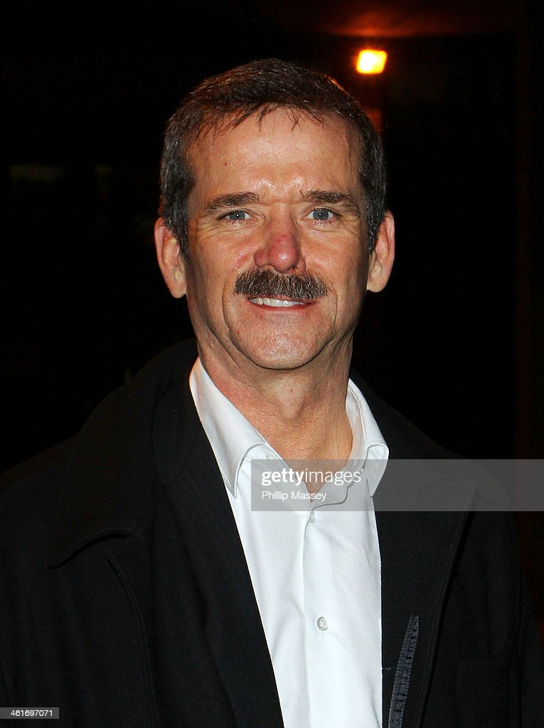 Chris Hadfield appears on the Late Late Show on January 10, 2014 in Dublin, Ireland.