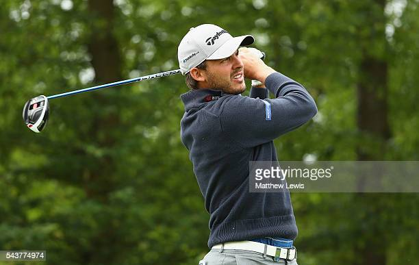 Chris Hanson of England tees off during day one of the 100th Open de France at Le Golf National on June 30 2016 in Paris France