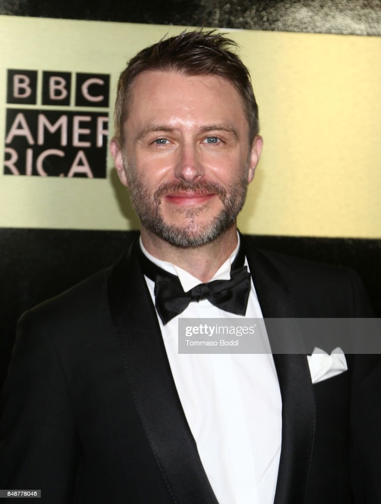 Chris Hardwick at AMC, BBCA and IFC Emmy party at BOA Steakhouse on September 17, 2017 in West Hollywood, California.