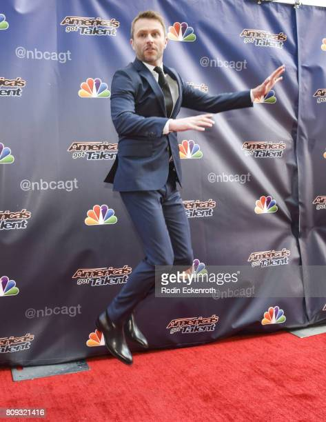 Chris Hardwick attends NBC's 'America's Got Talent' Judge Cut Rounds at NBC Universal Lot on April 27 2017 in Universal City California
