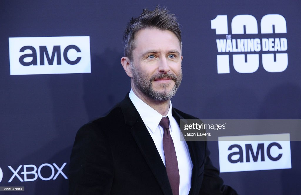 Chris Hardwick attends the 100th episode celebration off 'The Walking Dead' at The Greek Theatre on October 22, 2017 in Los Angeles, California.